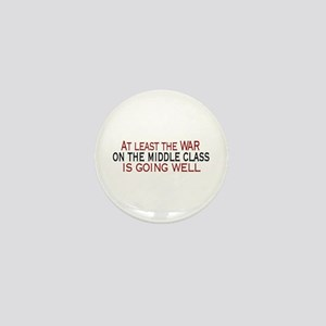 War on Middle Class Mini Button
