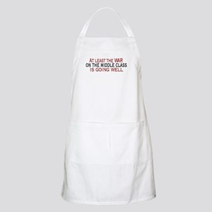 War on Middle Class BBQ Apron