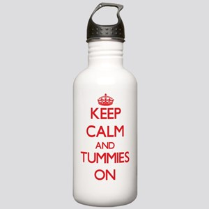 Keep Calm and Tummies Stainless Water Bottle 1.0L