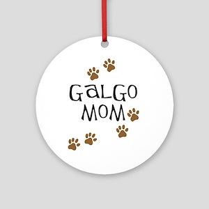 Galgo Mom Ornament (Round)