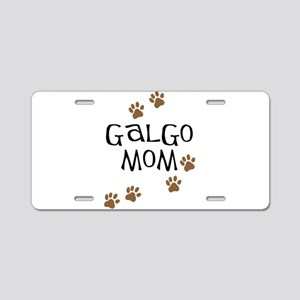 Galgo Mom Aluminum License Plate