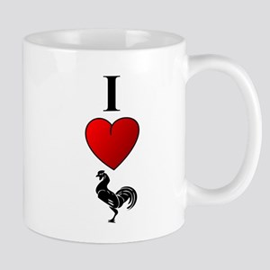 """ I Heart Cock"" Mug"