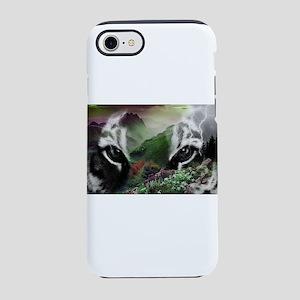 Through the Eyes of a Tiger iPhone 7 Tough Case