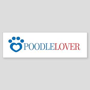 Poodle Lover Bumper Sticker
