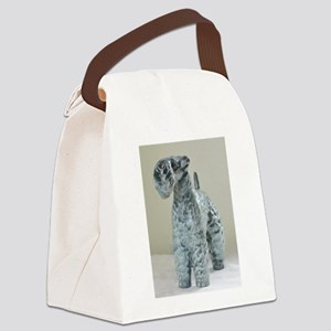 Kerry Blue Terrier Canvas Lunch Bag