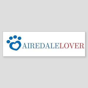 Airedale Lover Bumper Sticker
