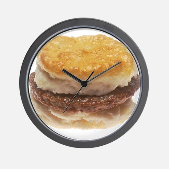 Sausage Biscuit Wall Clock