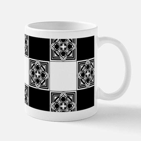 Checkered Pattern Mugs