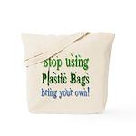 Envrionmentally Friendly Gree Tote Bag