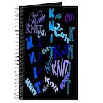 Knit Blue Dark Journal