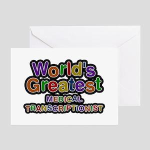 World's Greatest MEDICAL TRANSCRIPTIONIST Greeting