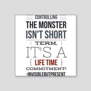 Controlling the monster © Sticker