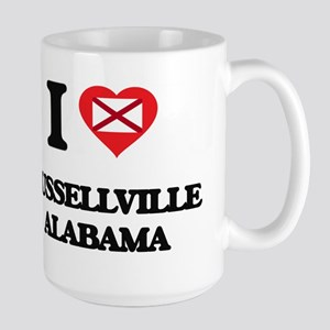 I love Russellville Alabama Mugs