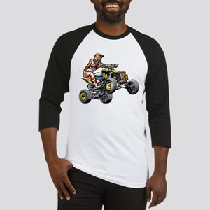 ATV Quad Racer Freestyle Baseball Jersey