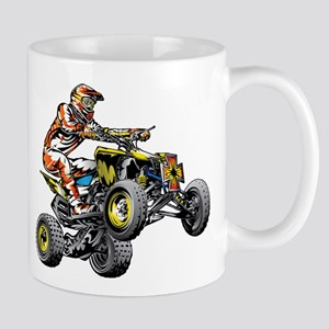 ATV Quad Racer Freestyle Mugs
