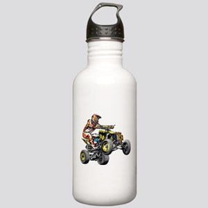 ATV Quad Racer Freesty Stainless Water Bottle 1.0L