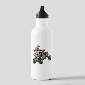 ATV Quad Racer Freesty Stainless Water Bottle 1.0L