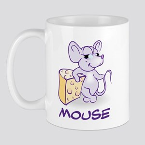 Baby Mouse With Cheese Mug