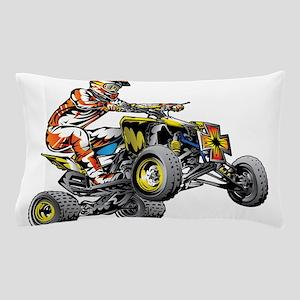 ATV Quad Racer Freestyle Pillow Case