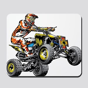 ATV Quad Racer Freestyle Mousepad