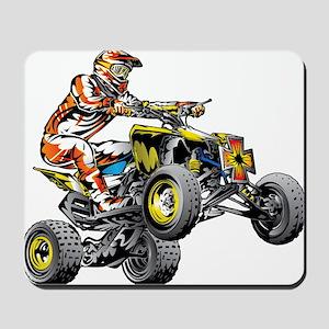 ATV Quad Racer Freestyle Mousepad