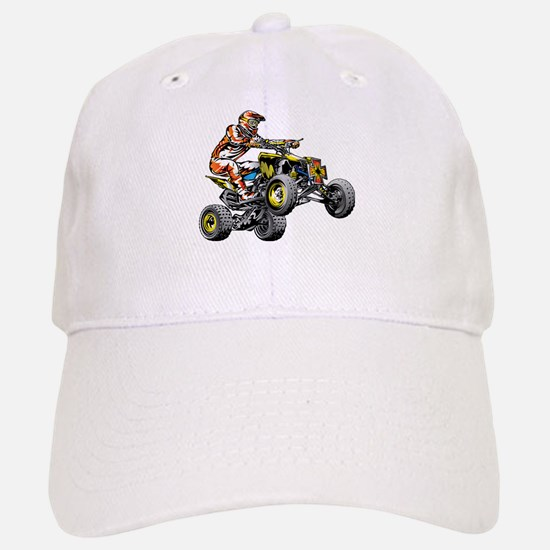 ATV Quad Racer Freestyle Baseball Baseball Cap