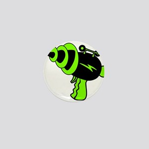 6896cae57b5 Neon Green Ray Gun Mini Button