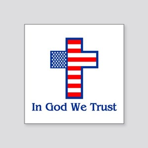 Ingodwetrust Sticker