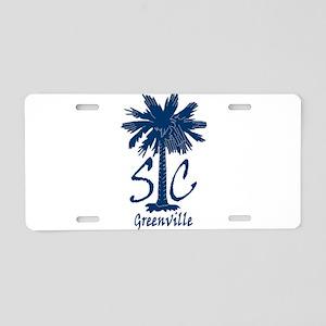 Greenville Aluminum License Plate
