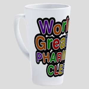 World's Greatest PHARMACY CLERK Latte Mug