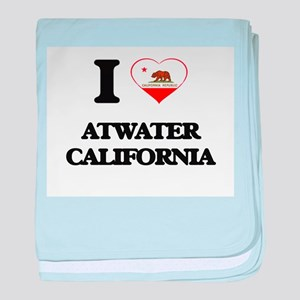I love Atwater California baby blanket
