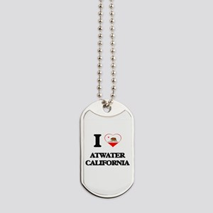 I love Atwater California Dog Tags