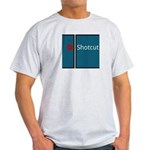 Shotcut Light Gray Men's T-Shirt