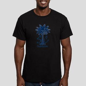 Charleston Men's Fitted T-Shirt (dark)
