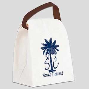 Mount Pleasant Canvas Lunch Bag