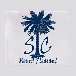 Mount Pleasant Throw Blanket