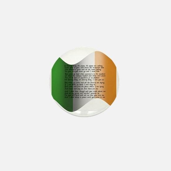 Unique Irish flag Mini Button