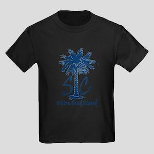 Hilton Head Island Kids Dark T-Shirt