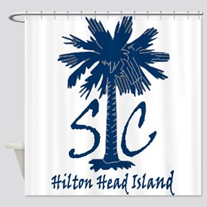 Hilton Head Island Shower Curtain
