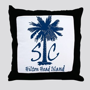 Hilton Head Island Throw Pillow