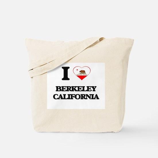 I love Berkeley California Tote Bag