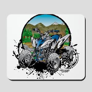 ATV Quad Mountain Rider Mousepad