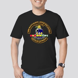 36th Infantry - 9th In Men's Fitted T-Shirt (dark)