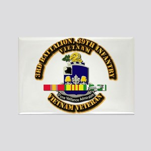 36th Infantry - 9th Infantry ID Rectangle Magnet