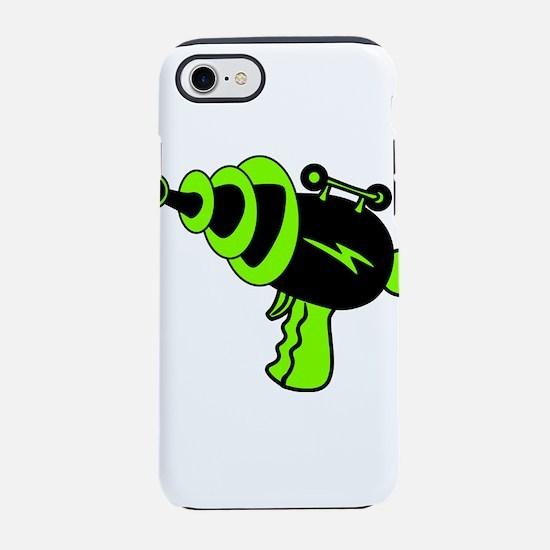 Neon Green Ray Gun iPhone 7 Tough Case