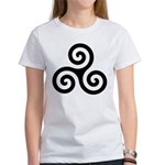 Triskele Symbol (Triple Spiral) Women's T-Shirt
