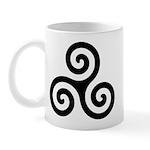 Triskele Symbol (Triple Spiral) Mug