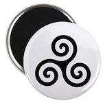 Triskele Symbol (Triple Spiral) Magnet
