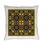 Eternal Flower Wheels 17 Everyday Pillow