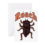 Roach Greeting Cards (Pk of 10)